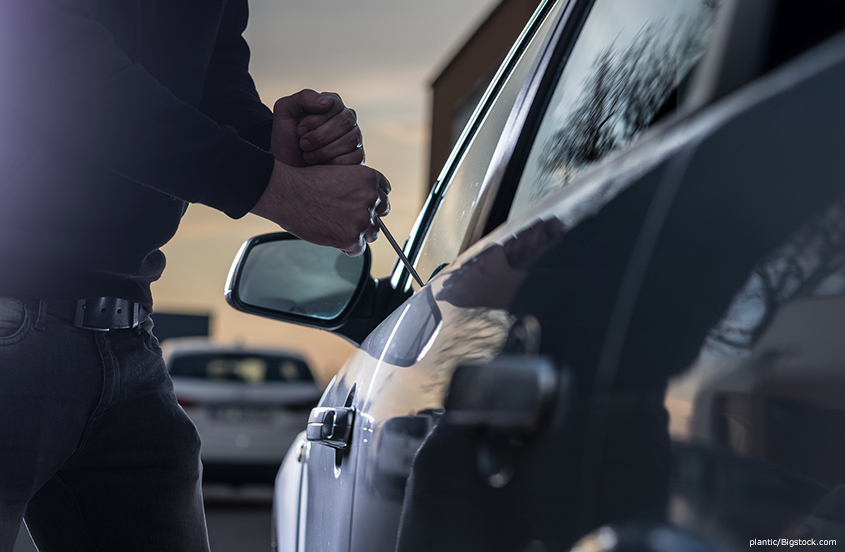 Deterring Thieves from Targeting Car Dealerships and Service Vehicles on the Lot
